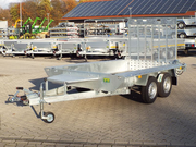 Baggertransporter Builder 3m 3to.